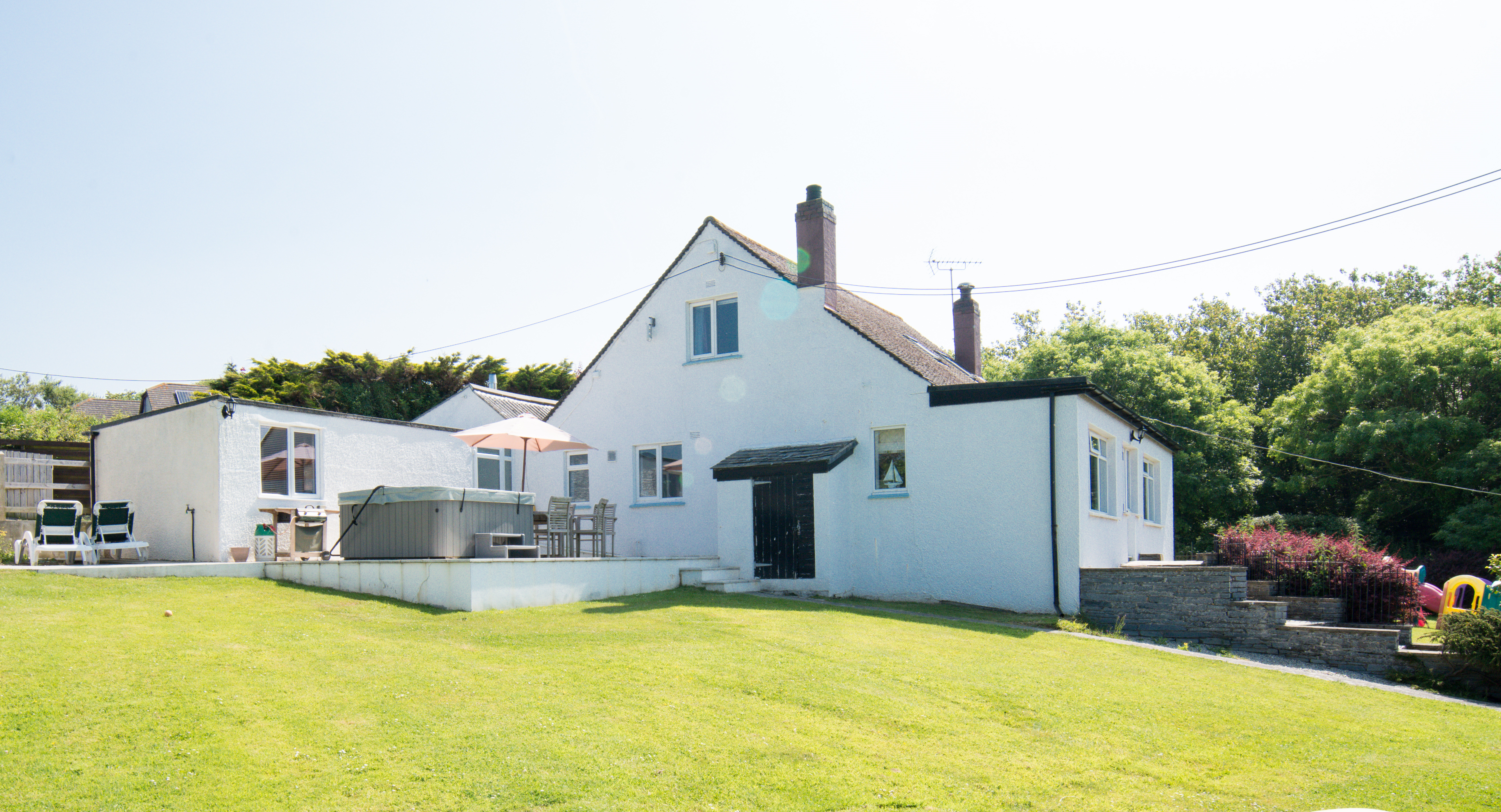 Holiday Accommodation Swimming Pool In North Cornwall South West Cottage With Swimming Pool