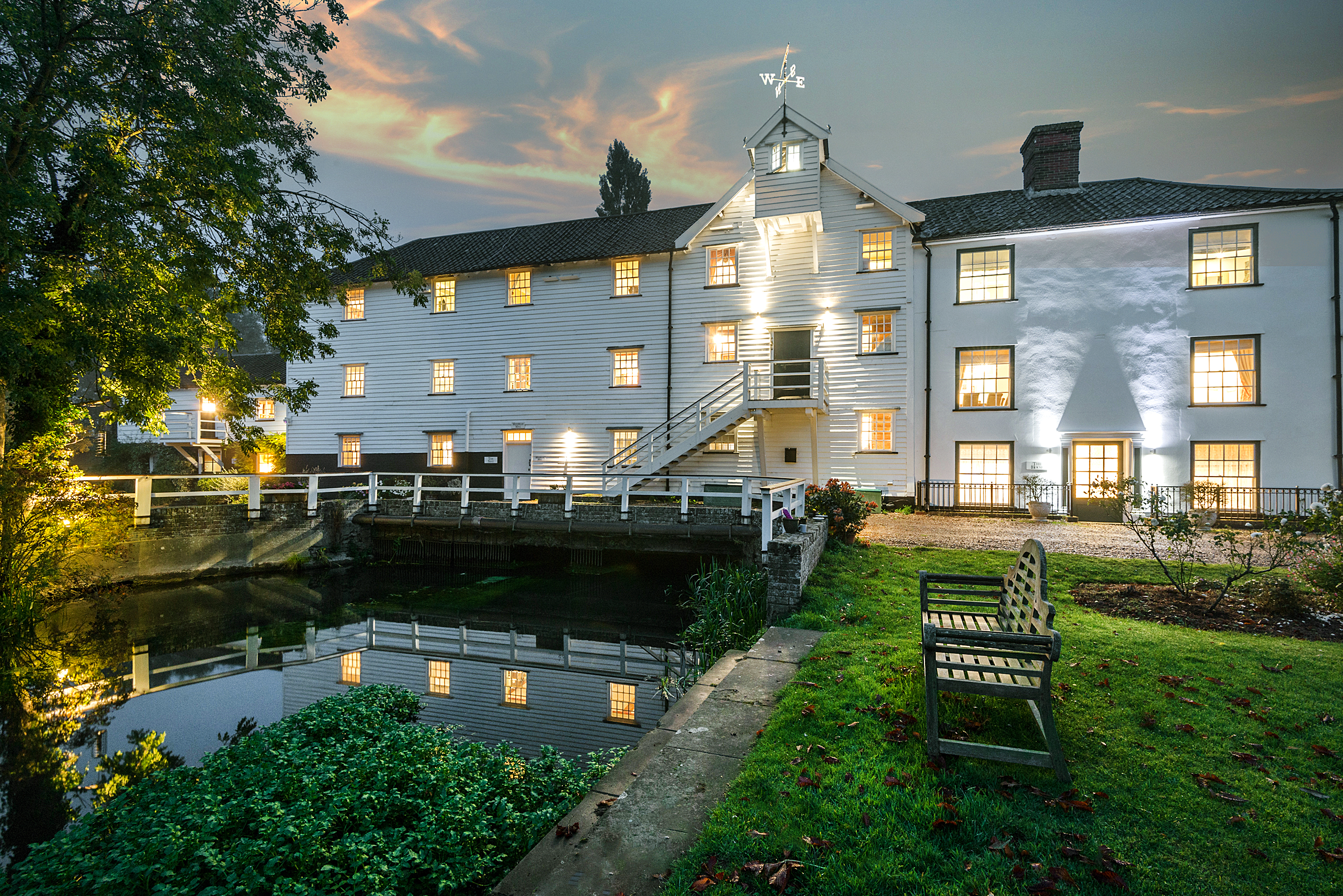 Mendham Mill - the house over a river