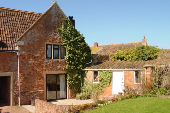 Spa cottage couples in Quantock Hills in West Somerset, South West, West Country