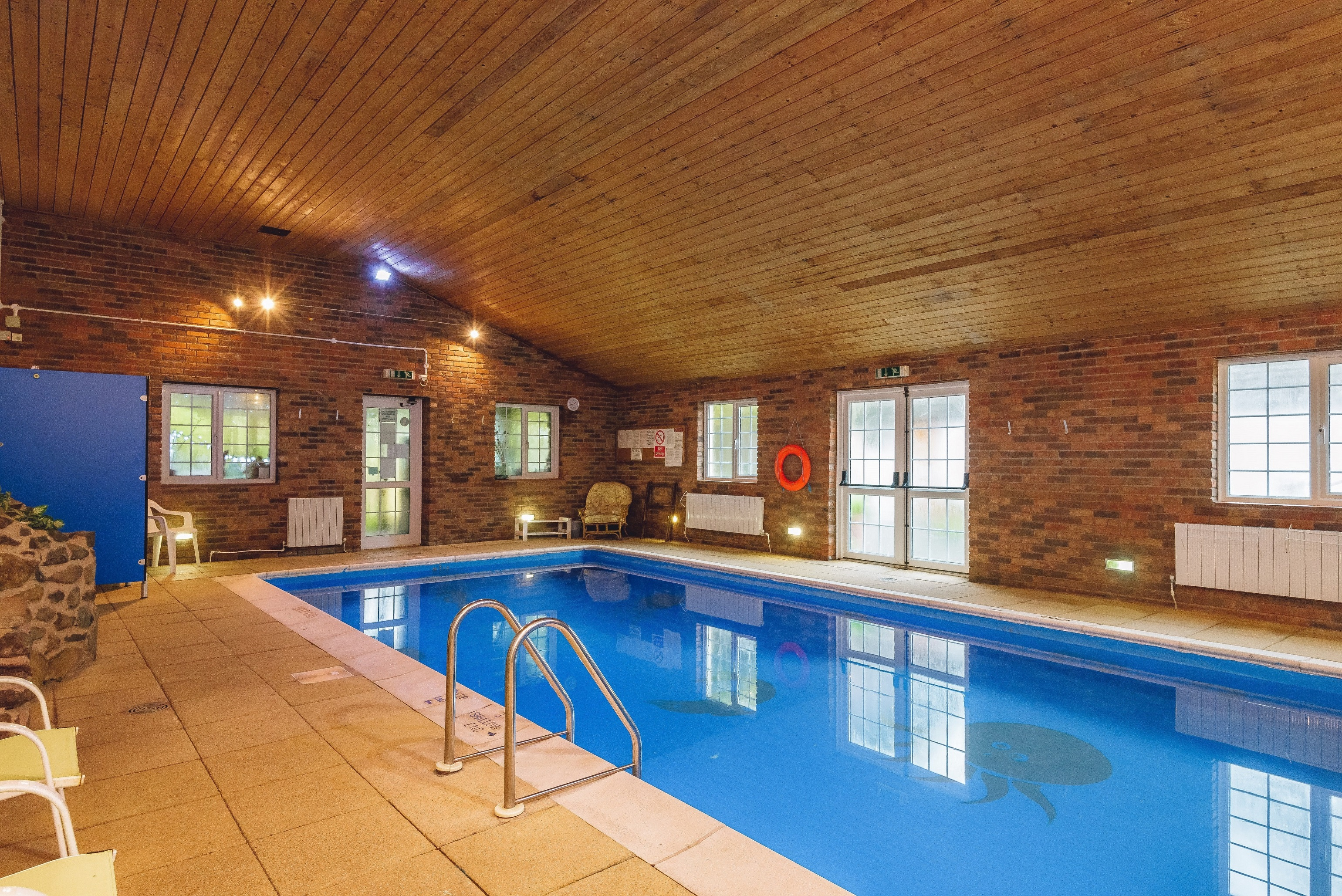 Big holiday cottages with a pool  in Mid Wales