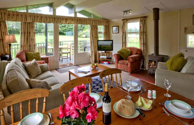 Spa cottage couples in Northumberland  north England