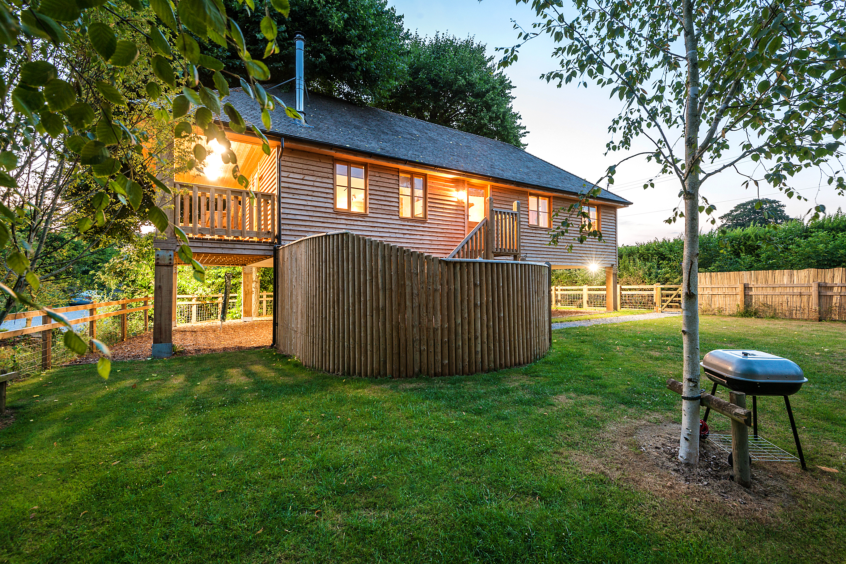 Holiday homes with a swimming pool plus barbecue  in Near the Quantock Hills and Exmoor, South West, West Country