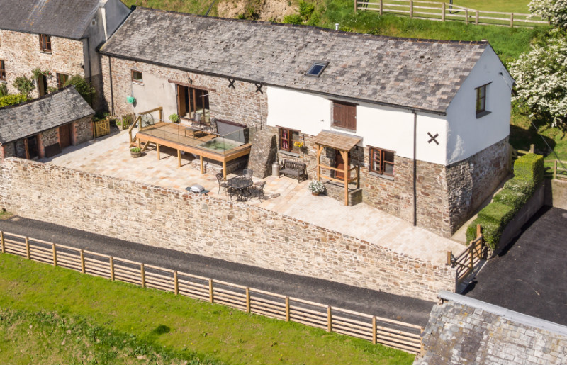 Cottage breaks with swimming pool + BBQ  in North Devon/Exmoor, South West, West Country