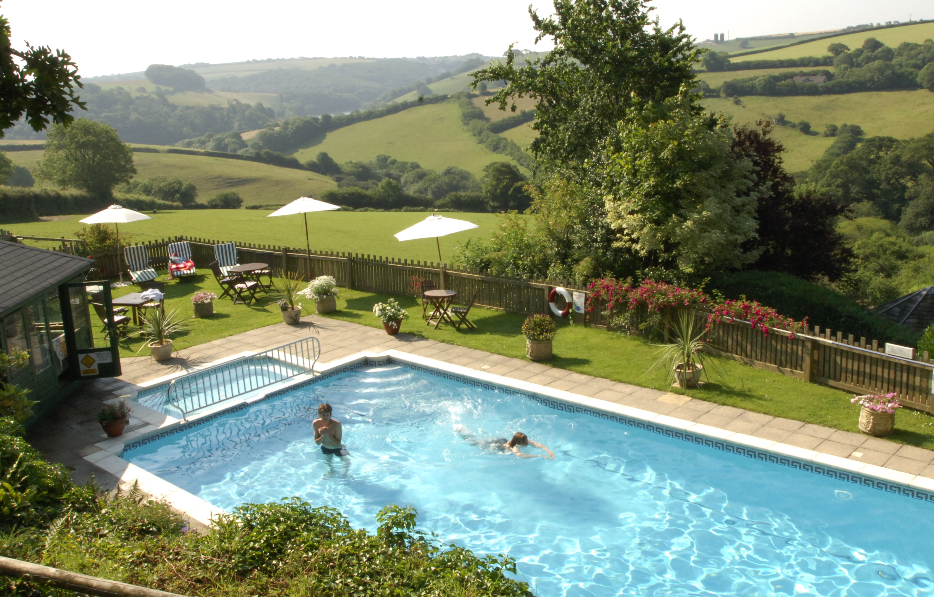 Accommodation with swimming pool for 2  in South West, West Country
