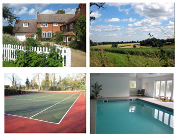 Cottage breaks with swimming pool + BBQ  in Home Counties/Chiltern Cycleway