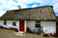 Irish country cottage