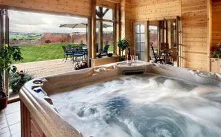 The Vibrant Cottage Best Cottage Hot Tubs