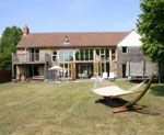 Fantastic 4 bedroom oak and glass contemporary house with river frontage, Oxfordshire, England