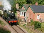 Railway Holiday Cottage, Somerset, England