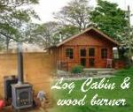 Lucy's Nest and Rob's Rest Log Cabins, Anglesey, Wales