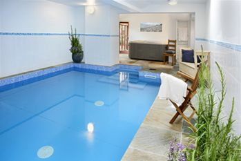 Indoor Heated Pool and Luxury Spa