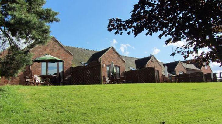 Blithfield Lakeside Barns, sleeps  32,  Photo 3