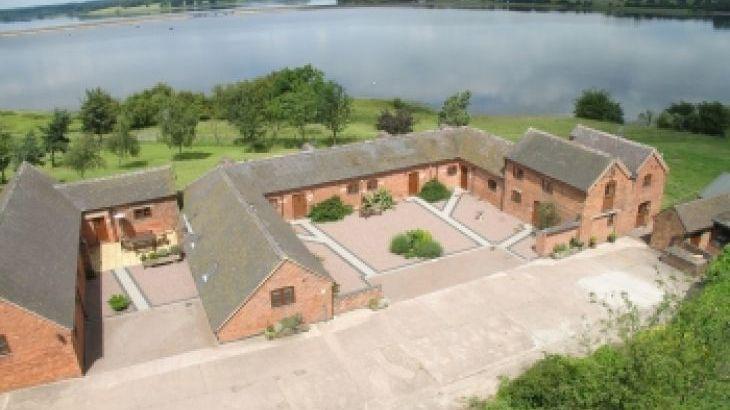 Blithfield Lakeside Barns, sleeps  32,  Photo 1