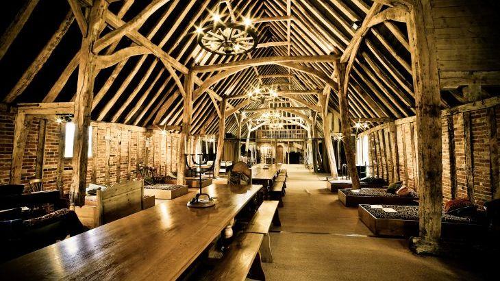 Tudor Barn, sleeps  30,  Photo 1