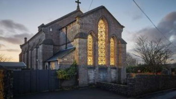 The Gothic Church, sleeps  21,  group holiday rental, Somerset