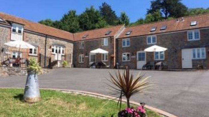 Webbington Farm Holiday Cottages, sleeps  30,  group holiday rental, Somerset