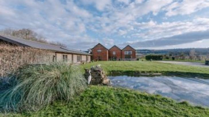 The Victorian Barn Self Catering Holidays with Pool and Hot Tubs, Dorset., sleeps  80,  group holiday rental, Dorset