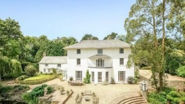 Corffe House, sleeps  22,  group holiday rental, Devon
