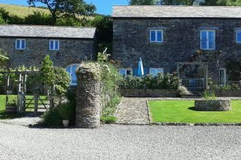 Cottage with a spacious bed for couples in North Devon, West Country, South West