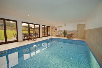 Flossy Brook Holiday House with Indoor Heated Swimming Pool, Somerset, England