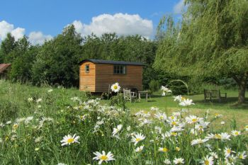 Borleymere Shepherds Hut, Suffolk, England