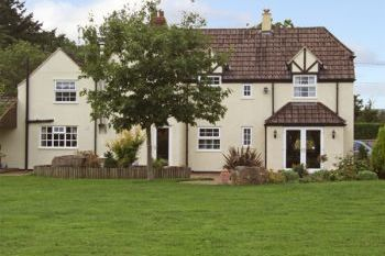 Adsett Country House near the Forest of Dean, Gloucestershire, England