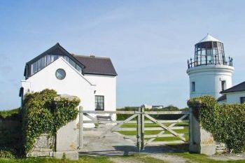 Branscombe Lodge at Old Higher Lighthouse, Dorset, England