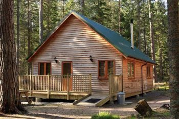 Cottage with barbeque for couples in Grampian, Royal Deeside, North east Scotland.