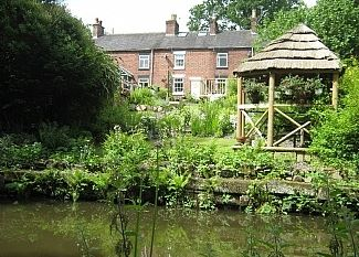 Daisy Cottage by the Canal, Staffordshire, England