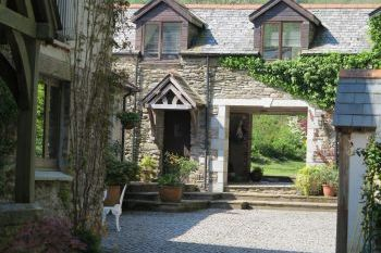 Meadow Cottage at Heddon Valley Mill, Devon, England