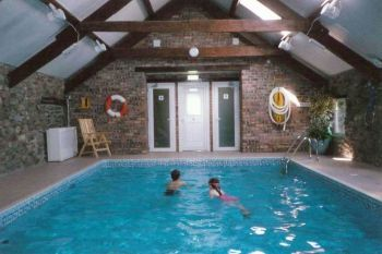 Accommodation with swimming pool for 2 in Snowdonia, North Wales