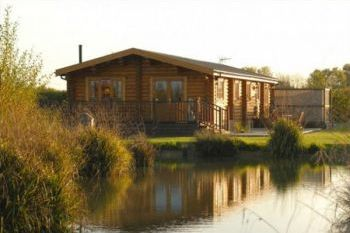 Luxurious log cabin rural retreat with sauna and hot tub, Suffolk, England