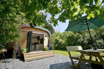 Sunridge Luxury Ecopod for Two, Devon, England