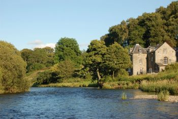 Mill House with River Views, Peeblesshire, Scotland