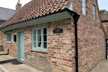 Cottage with barbeque for couples in East Midlands, Lincolnshire Wolds