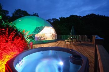 Sunridge Geodome, Devon, England