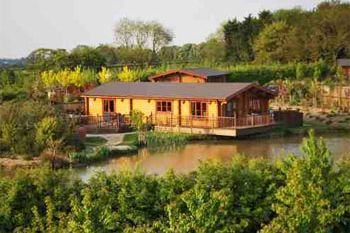 Eye Kettleby Lakes Log Cabins, Leicestershire, England