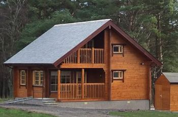 Red Squirrel Log Cabin, Banffshire, Scotland