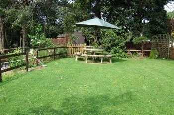 Dog-friendly 2 bedroom holiday chalet at Blue Anchor, Somerset, England