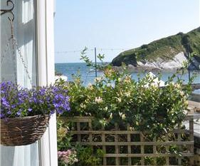 Fishermans Cottage at Hele Bay, Devon, England