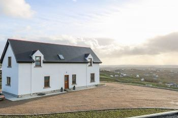 Horizon House with Sea Views, Donegal, Ireland