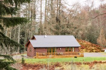 Fersit Log Cabin, Highland, Scotland