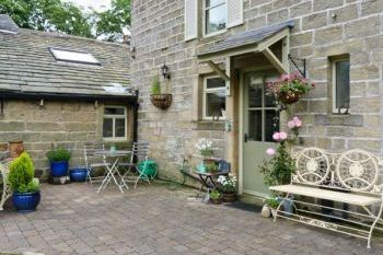 Romantic Wycoller Cottage near Bronte Country, Lancashire, England