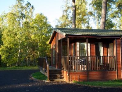 self-catering log cabins on Royal Deeside Scotland