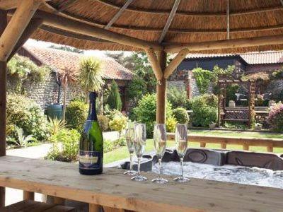 Kitchen in luxury 5 Star cottages Norfolk