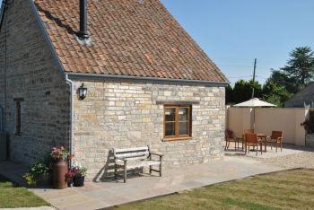 Oak kitchen with granite worktops