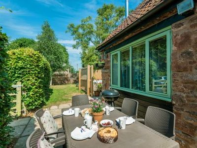 Self-catering in style in Somerset