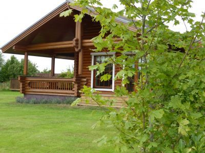 luxury log cabin selfcatering