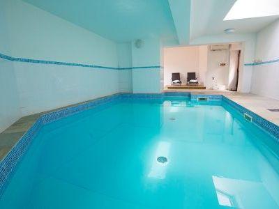 Indoor Heated Pool and Luxury Spa