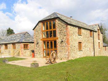 Stone selfcatering barn in Devon